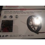 Coleman Cpx Lighted Tent Fan With Stand Walmart Com