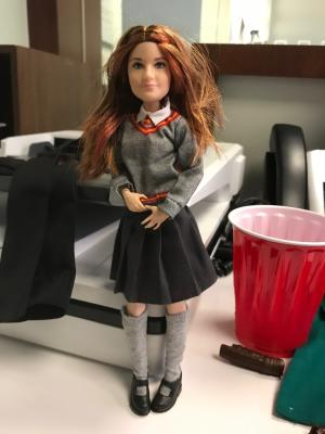 Harry Potter Ginny Weasley Film-Inspired Collector Doll