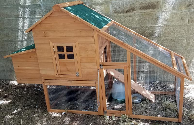 Best Choice Products 75in Backyard Wooden Chicken Coop Poultry Nest