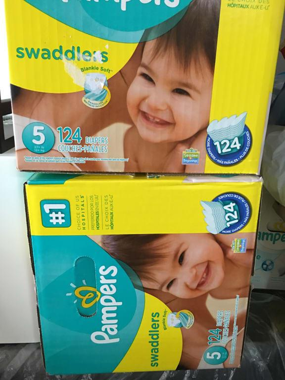 Pampers Swaddlers Diapers Size 1 198 Count