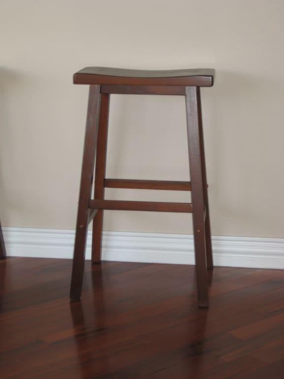 Awesome Winsome Wood Satori Saddle Seat Bar Stool 29 Black Inzonedesignstudio Interior Chair Design Inzonedesignstudiocom