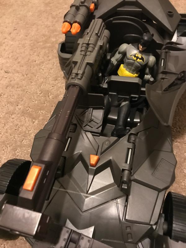 Justice League Mega Cannon Batmobile véhicule