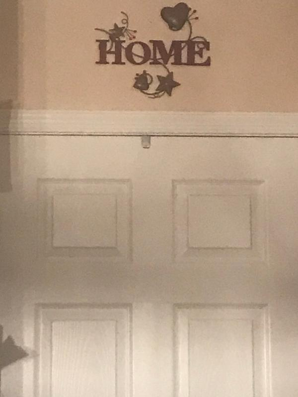 Country Wall Art with Metal Hearts /& Stars or Words Home Love /& Faith 3 Designs