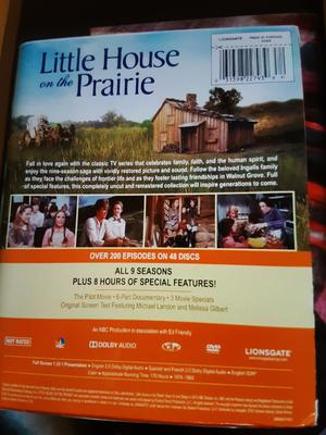 Little House On The Prairie Complete Collection Dvd Walmart Com Walmart Com