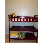 Dream On Me Emily Changing Table Espresso Walmart Com