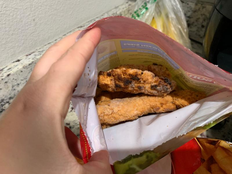 Tyson Fully Cooked Crispy Chicken Strips 25 Oz Frozen Walmart Com Walmart Com