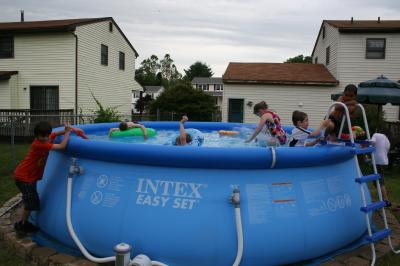 Intex 18 X 48 Easy Set Above Ground Swimming Pool With Filter Pump