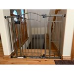 Home Safe Extra Tall Walk Through Decorative Baby Gate 28