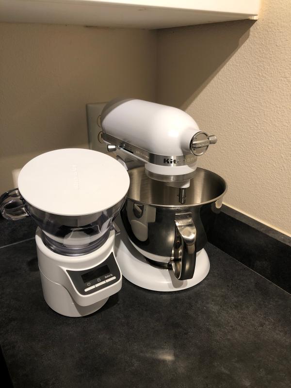 Medallion Silver KitchenAid KSM3316XMS Artisan Mini Stand Mixer