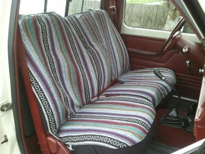 BellR Baja Blanket Standard Bench Seat Cover 3 Pc Box