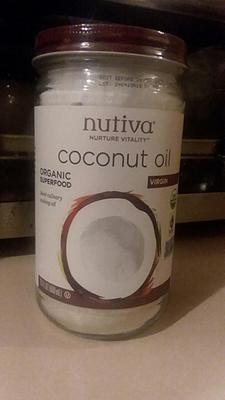 Nutiva Organic Virgin Coconut Oil, 23 Fl Oz