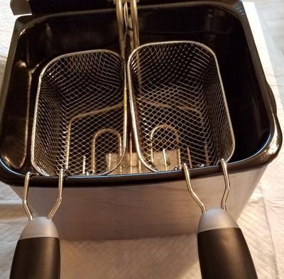 Farberware 4L Deep Fryer electric Stainless Steel