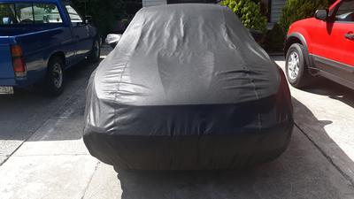 Crevelle Custom Fit 1994-2004 Ford Mustang Car Cover Black Sapphire Metallic Covers