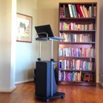 Techni Mobili Sit To Stand Rolling Adjustable Height