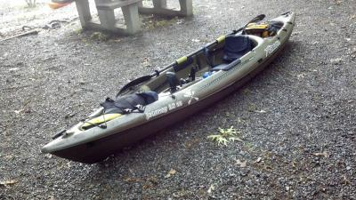 Ozark Trail 12 Foot Fishing Kayak