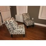 Handy Living Dani Armless Accent Chair Set Of 2