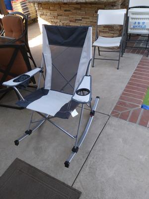 Strange Ozark Trail Tension Camp Rocking Chair Walmart Com Inzonedesignstudio Interior Chair Design Inzonedesignstudiocom