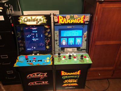Galaga Arcade Machine, Arcade1UP, 4ft (Walmart Exclusive