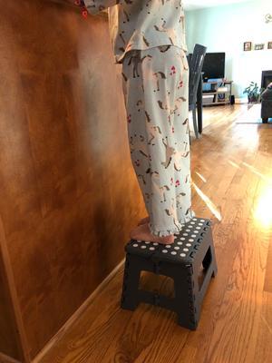 Terrific Great Value Folding Step Stool Walmart Com Alphanode Cool Chair Designs And Ideas Alphanodeonline