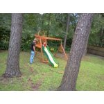 Backyard Discovery Prescott Cedar Wooden Swing Set ...