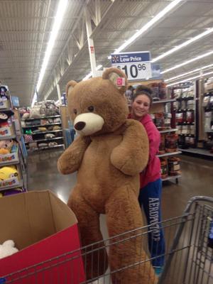 Baby Net For Stuffed Animals, 6 Ft Tall Stuffed Teddy Bear Tan Walmart Com Walmart Com