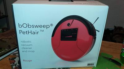 Bobsweep Pethair Robotic Vacuum Cleaner And Mop Champagne