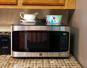 General Electric 1 Cu Ft Countertop Stainless Steel Microwave Oven