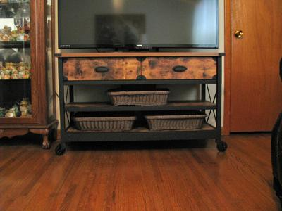 Better Homes Gardens Rustic Country Tv Stand For Tvs Up To 52