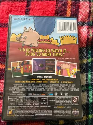 The Simpsons Movie Dvd Walmart Com Walmart Com