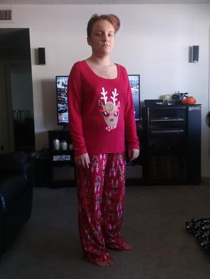 7da5c3a23c Toast   Jammies - Toast   Jammies Holiday Family Sleep Reindeer 2-Piece  Pajama Set (Women s) - Walmart.com
