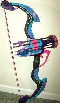 Nerf Rebelle Secrets & Spies Arrow Revolution Bow Blaster