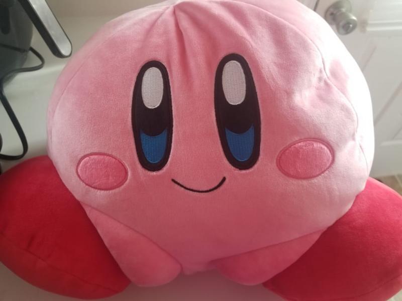 16/'/' Kirby Manpuku Mochi Mochi BIG Plush Doll Cute Stuffed Animal  Pillow Toy