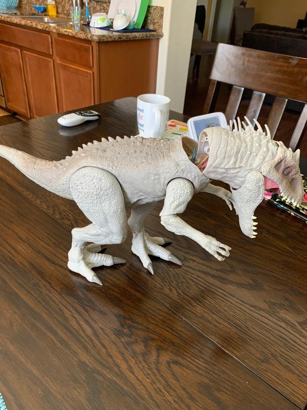 Jurassic World Destroy /'N Devour Indominus Rex walking voice light fire NEW
