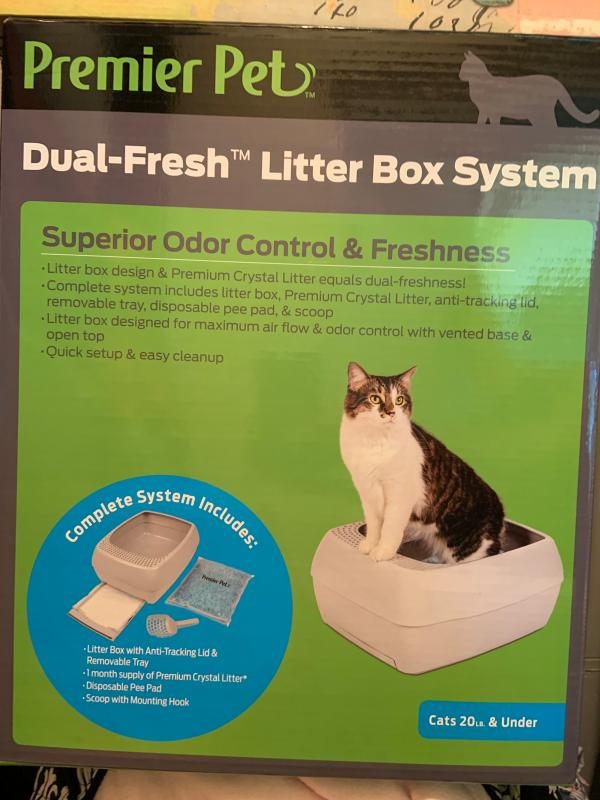 Premier Pet Dual-Fresh™ Litter Box System - Superior Odor ...
