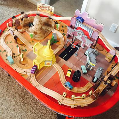Fabulous Kidkraft Disney Cars Radiator Springs Race Track Set And Table Ages 3 17979 Download Free Architecture Designs Scobabritishbridgeorg