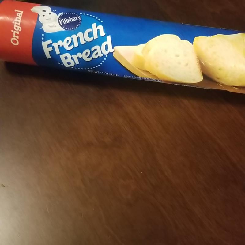 Pillsbury French Bread Original 1 13 Crusty Loaf 11 Oz Walmart Com Walmart Com