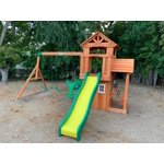 Backyard Discovery Tanglewood Cedar Wooden Swing Set ...