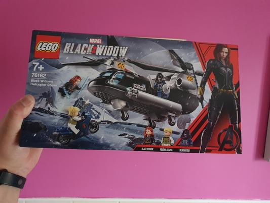 LEGO 76162 Marvel Black Widow/'s Helicopter Chase Set New Sealed FREE POST