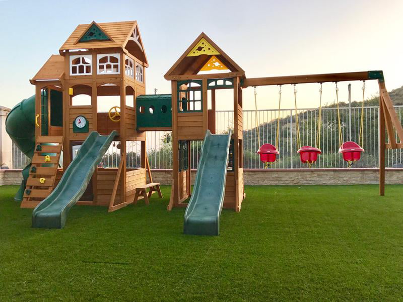 Cedar Summit Paramount Swing Set