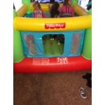 Fisher Price Bouncesational Inflatable Bouncer With Built