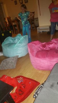 Swell Big Joe Bean Bag Chair Multiple Colors 33 X 32 X 25 Gmtry Best Dining Table And Chair Ideas Images Gmtryco