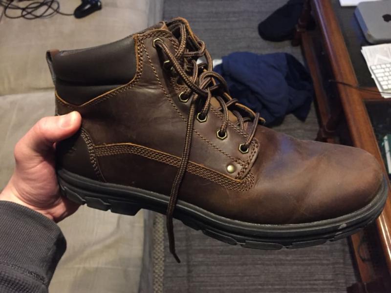 Skechers Men's Skechers Relaxed Fit Segment Garnet Boot