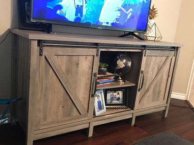 And Garden Tv Better Homes Gardens Rustic Country Tv Stand For Tvs