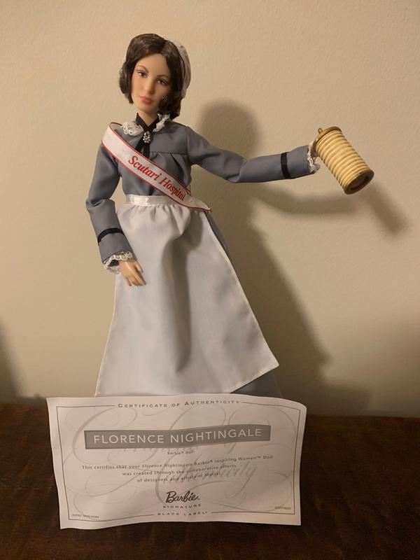 NEW /& SEALED! Barbie Inspiring Women Series Florence Nightingale Doll
