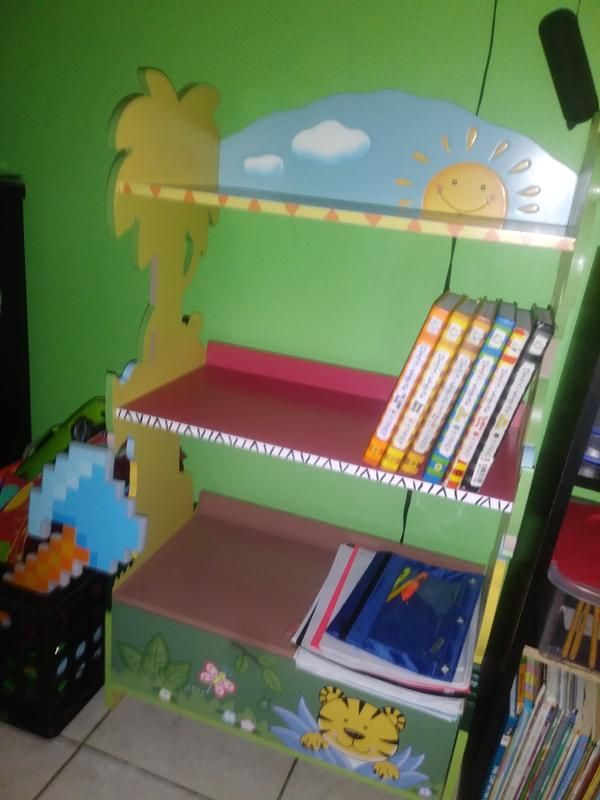 Fantasy Fields Sunny Safari Kids Bookshelf 3 Shelf With Cabinet