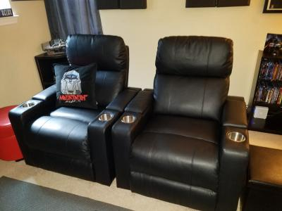 Cool Mainstays Home Theater Recliner With In Arm Storage Pdpeps Interior Chair Design Pdpepsorg