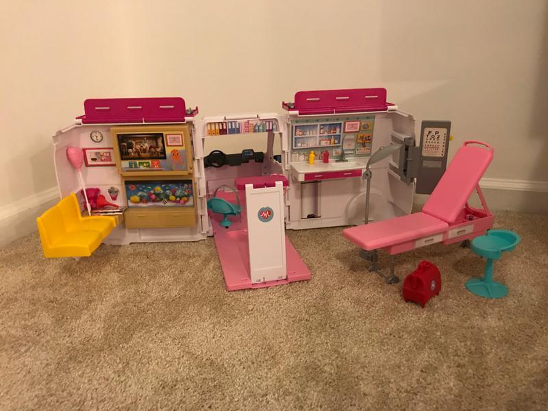 Barbie Care Clinic Playset - Walmart.com
