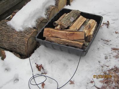 Snow Tub Terrain Utility Sled Winter Hunting Fishing