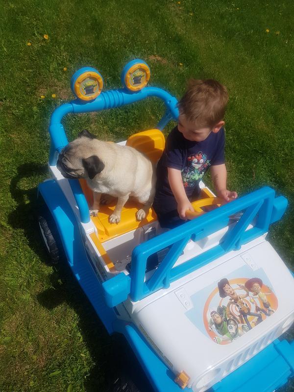 Power Wheels Disney Pixar Toy Story Ride On Jeep Wrangler Walmart Com Walmart Com