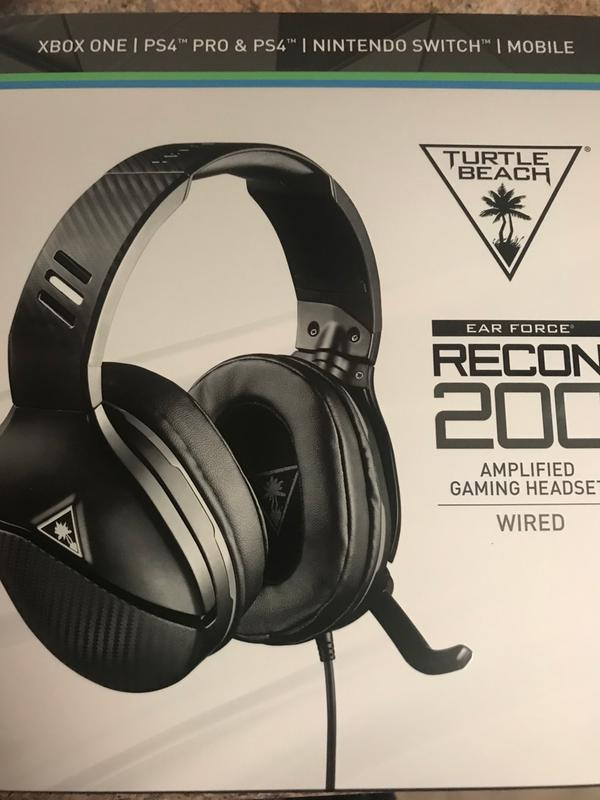Turtle Beach Recon 200 Amplified Gaming Headset For Xbox One Ps4